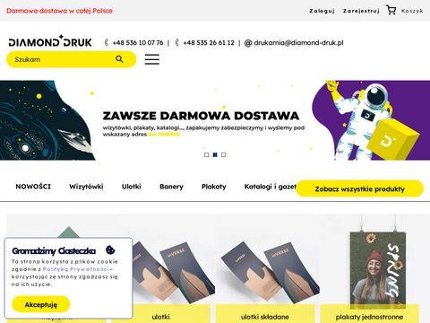 Diamond-druk.pl - drukarnia Tczew