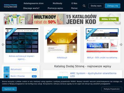 Dodaj-strone.com.pl dobry katalog