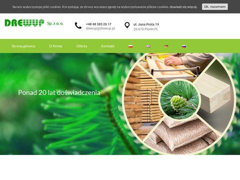 Drewup - drewniane fronty meblowe