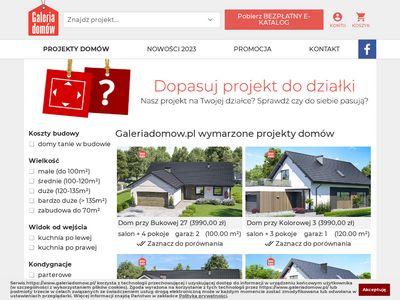Galeriadomow.pl projekty