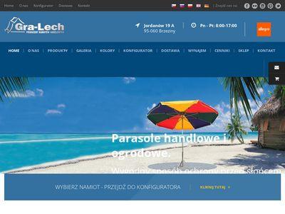 Gra-Lech Namioty handlowe