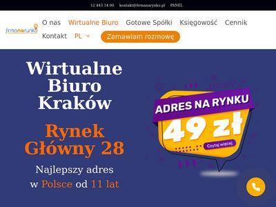 Firmanarynku.pl adres korespondencyjny