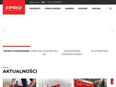 Firma-pro.pl - łaty murarskie i poziomnice