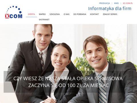 Xc.com.pl - oprogramowanie w chmurze