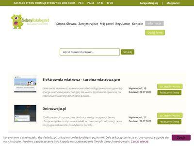 Zielonykatalog.net stron