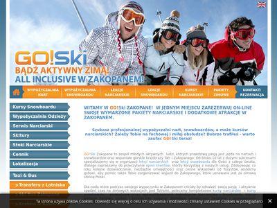 Wypożyczalnia snowboardów Zakopane