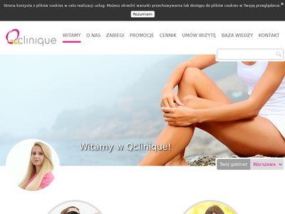 Gabinet medycyny estetycznej QClinique