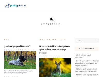 Pinky Paws smycze dla psów i kotów