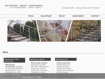 Pk-inox.pl - produkcja ogrodzeń Kraków