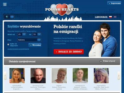 Polishhearts.com - randki internetowe na emigracji