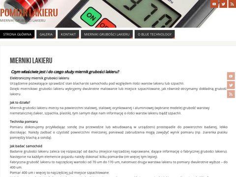 Pomiar-lakieru.pl testery