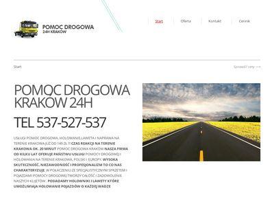 Tytmar pomoc drogowa Kraków Marcin Tytuła