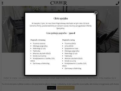 Cerber - zakład pogrzebowy w Nadarzynie