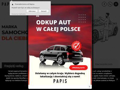 Papis.pl salon samochodowy