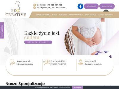 Pro Creative - usg genetyczne Kraków