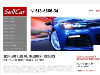 Sell-car.pl skup aut Elbląg