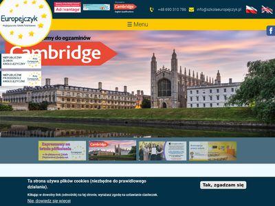 Szkolaeuropejczyk.pl anglojęzyczna szkoła