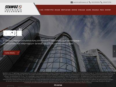 Stawoz.pl zabezpieczenia przeciwpożarowe