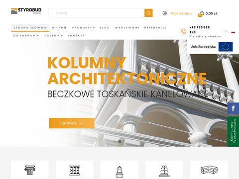 Styrobud.eu kolumny betonowe