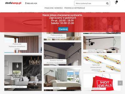 Strefalamp.pl - sklep z oświetleniem Warszawa