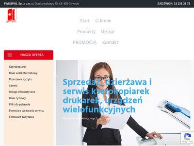 Swisspol kserokopiarki poleasingowe śląskie