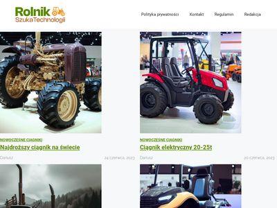 Rolnikszukatechnologii.pl - serwis rolniczy