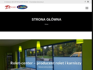 Rolet-Center producent karniszy Myślenice