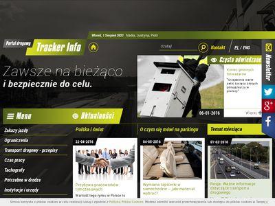 TrackerInfo.eu - informacje dla kierowców