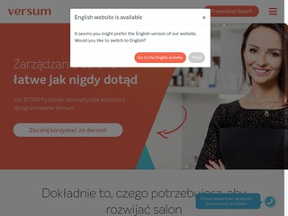 Versum.pl - gabinet program
