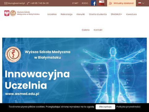 Wsmed.edu.pl - jedyne takie studia medyczne