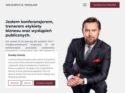 Wojciechswoclaw.pl - konferansjer Warszawa