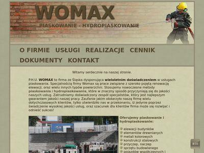Womax - piaskowanie powierzchni Śląsk