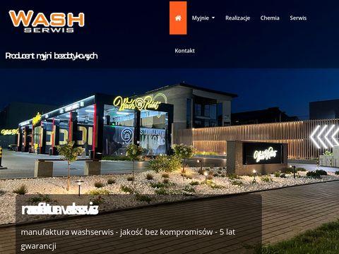 Washserwis.pl budowa myjni samochodowych Warszawa