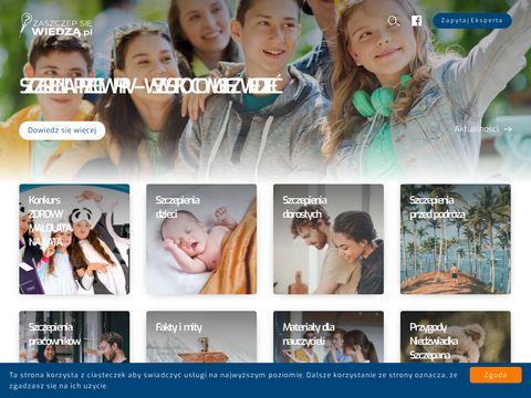 Zaszczepsiewiedza.pl portal informacyjny
