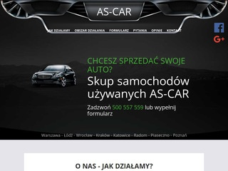 Auto-Handel As-Car skup aut Łódż