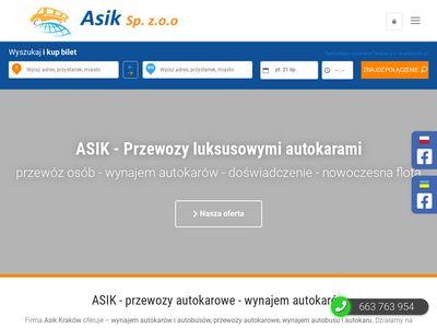 Asik.com.pl przewozy osób