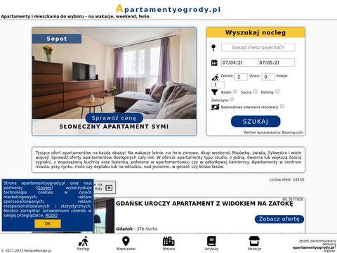 Apartamentyogrody.pl - noclegi Koszalin