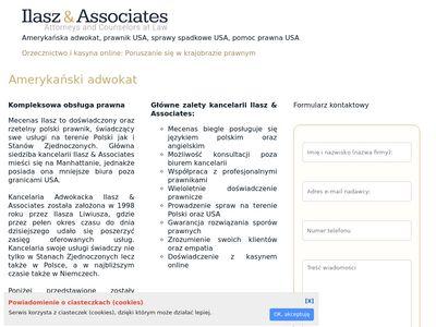 Amerykanski-adwokat.pl kancelaria Warszawa