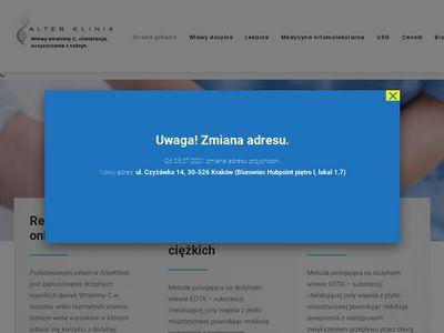 AlterKlinik dożylna terapia witaminowa Kraków