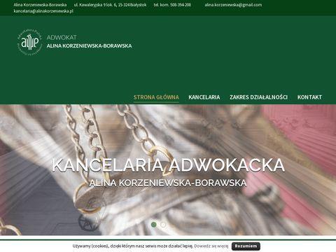 Alinakorzeniewska.pl - prawo karne