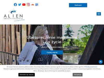 Alienubezpieczenia.pl OC AC na życie nieruchomości