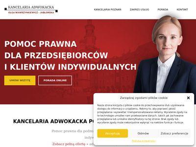Adwokat-wawrzynkiewicz.pl prawnik Poznań