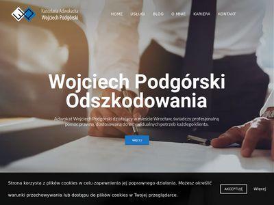 Adwokat-podgorski.pl - usługi prawne Wrocław