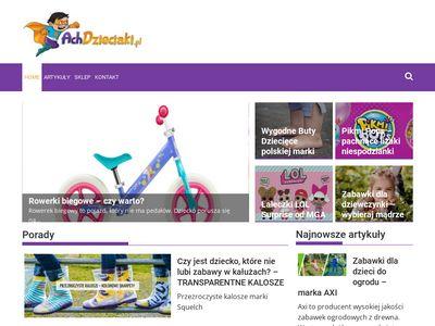 Achdzieciaki.pl - sklep z zabawkami