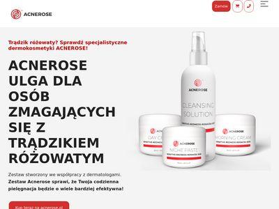 Acnerose.pl - pokonaj czerwoną twarz kosmetykiem