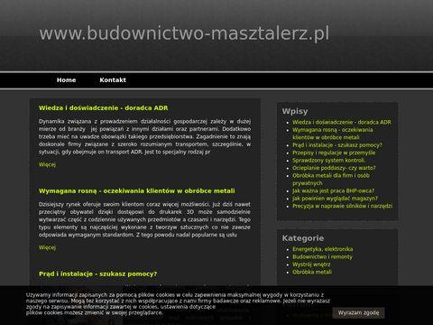 Budownictwo-masztalerz.pl