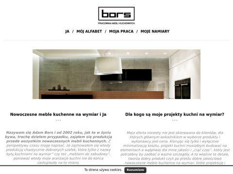 Bors.pl - pracownia mebli kuchennych