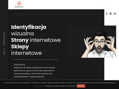 Black-art.com.pl projekt baneru