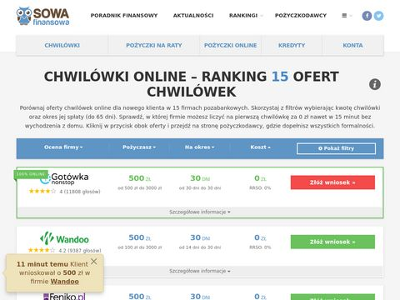 Bezpiecznechwilowki.pl - pożyczki przez internet