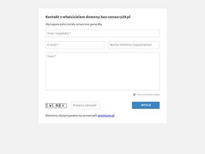 Bez-cenzury24.pl - serwis marketingowy